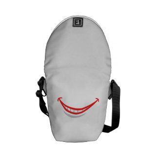 Smiling Lips Courier Bag