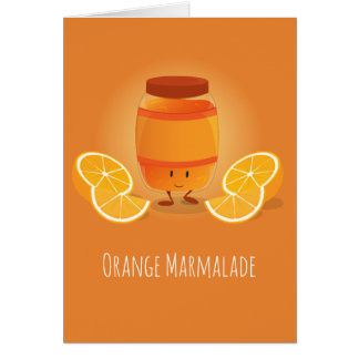 Smiling Marmalade Jam | Greeting Card