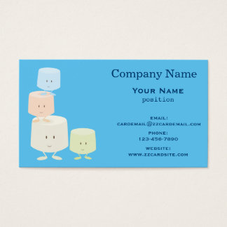 Smiling Marshmallows Business Card