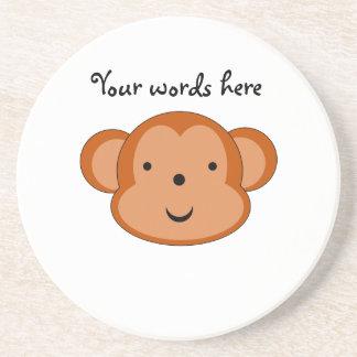 Smiling monkey coaster