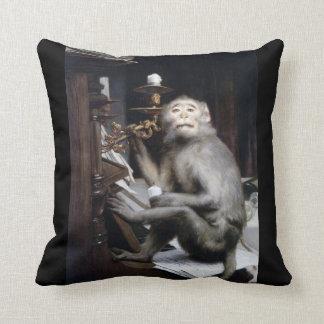 Smiling Monkey Cushion