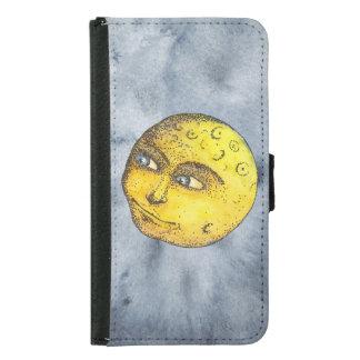 Smiling Moon on Indigo Case
