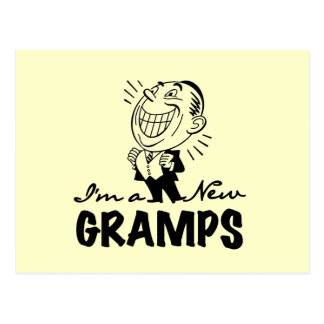 Smiling New Gramps T-shirts and Gifts Postcard