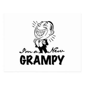 Smiling New Grampy T-shirts and Gifts Postcard