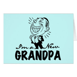 Smiling New Papaw Tshirts and Gifts Greeting Card