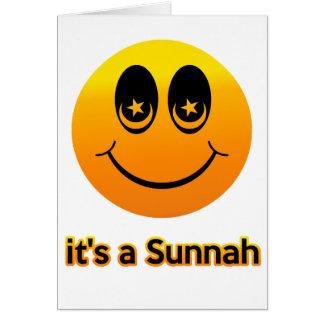 Smiling of Muslim Greeting Card