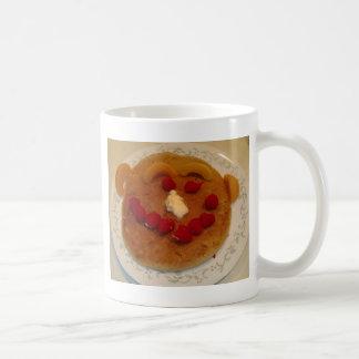 Smiling pancake mug