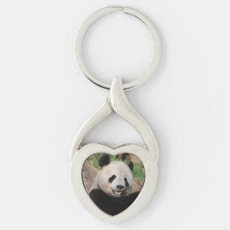 Smiling Panda Bear Keychains