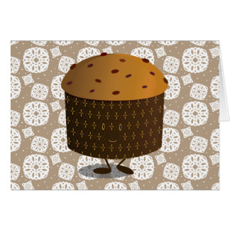Smiling Panettone Card