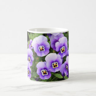 Smiling Pansies Mug