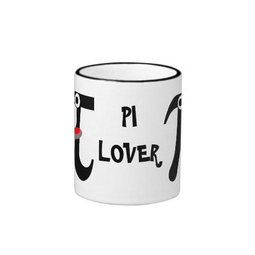 Smiling Pi LOVER Ceramic Mug