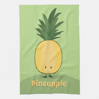 Smiling Pineapple | Kitchen Towel