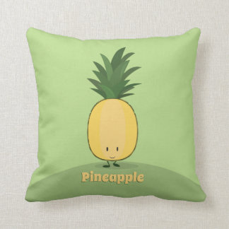 Smiling Pineapple | Throw Pillow