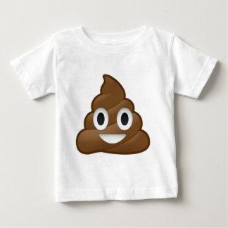 Smiling Poop Emoji Baby T-Shirt