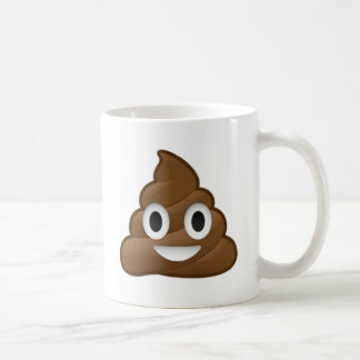 Smiling Poop Emoji Coffee Mug