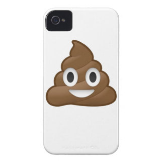 Smiling Poop Emoji iPhone 4 Case-Mate Case