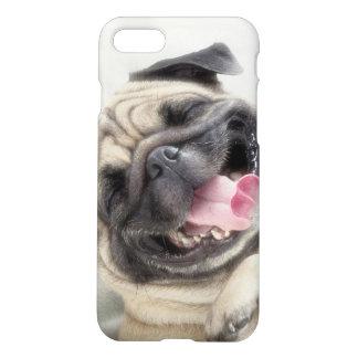 Smiling pug.Funny pug iPhone 7 Case