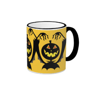 Smiling Pumkin Coffee Mug