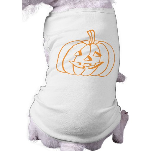 Smiling Pumpkin. Pet Shirt