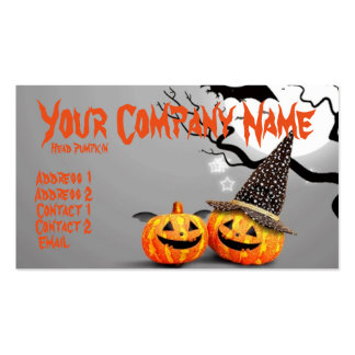 Smiling Pumpkins Pack Of Standard Business Cards