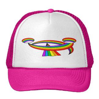 Smiling Rainbow Tattoo Cap
