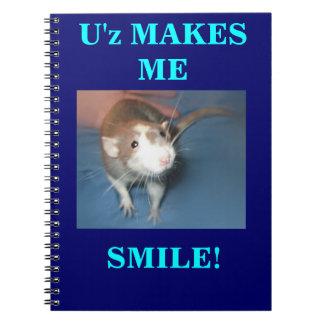 SMILING RAT NOTEBOOK