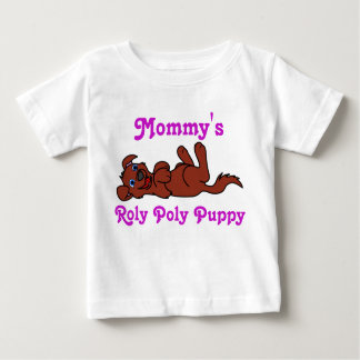 Smiling Red Puppy Dog Roll Over T-shirt
