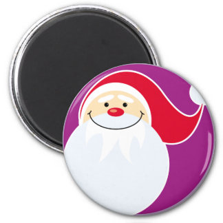 Smiling Santa Claus Magnet