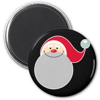 Smiling Santa Claus Magnets
