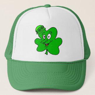 Smiling Shamrocks Trucker Hat