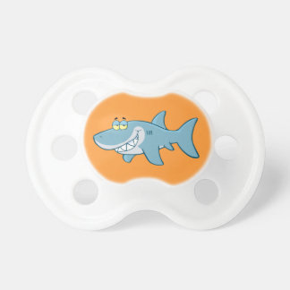 Smiling Shark Baby Pacifiers