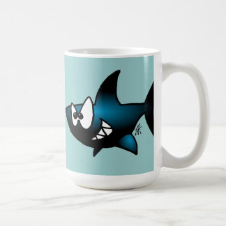 Smiling Shark Coffee Mug