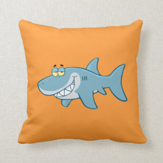 Smiling Shark Cushion