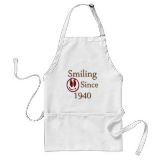 Smiling Since 1940 Standard Apron