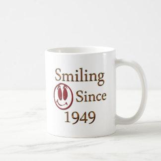 Smiling Since 1949 Coffee Mug