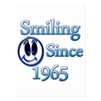 Smiling Since 1965 Postcard