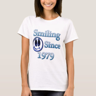 Smiling Since 1979 T-Shirt