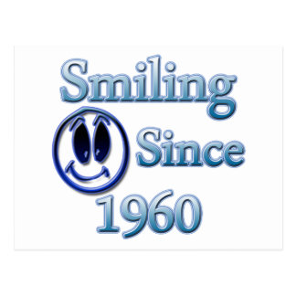 Smiling Since 1990 Postcard
