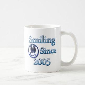 Smiling Since 2005 Basic White Mug