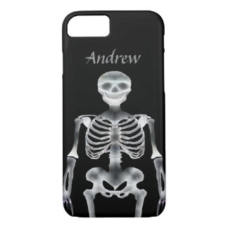 smiling skeleton iPhone 8/7 case