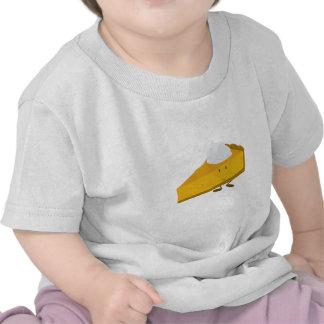 Smiling slice of pumpkin pie shirt