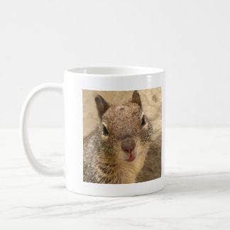 Smiling Squirrel mug - left