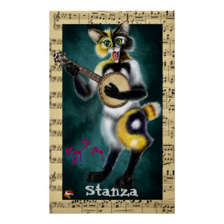 Smiling Stanza Poster