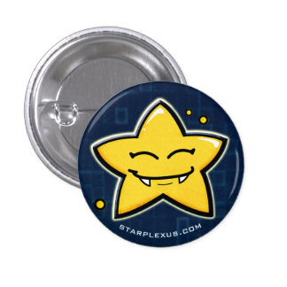 smiling starlet button