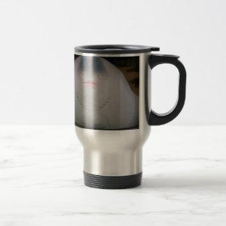 Smiling Sting Ray Swimming in Water Coffee Mug