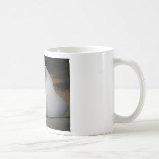 Smiling Sting Ray Swimming in Water Basic White Mug