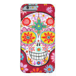 Smiling Sugar Skull iPhone 6 case Barely There iPhone 6 Case