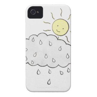 Smiling Sun 2 iPhone 4 Case