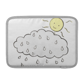 Smiling Sun 2 MacBook Sleeve