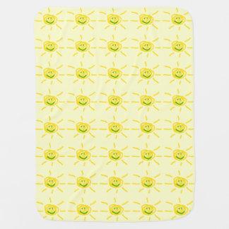 Smiling Sun Baby Blanket